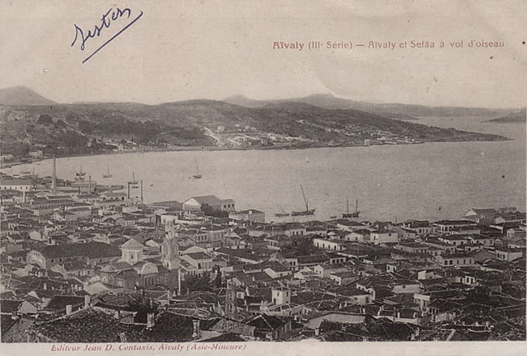 Ayvalik as viewed in 1910s