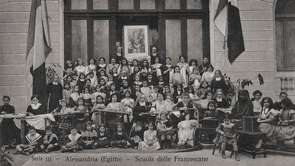 The Italian Franciscan order Catholic School of Alexandria